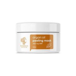CBD Facial Argan Oil Peeling Mask